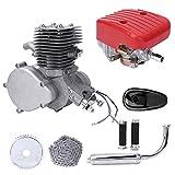Neufday Bicycle Engine Kit, 2-Stroke 100cc Gas Motorized Motor Bike Kit