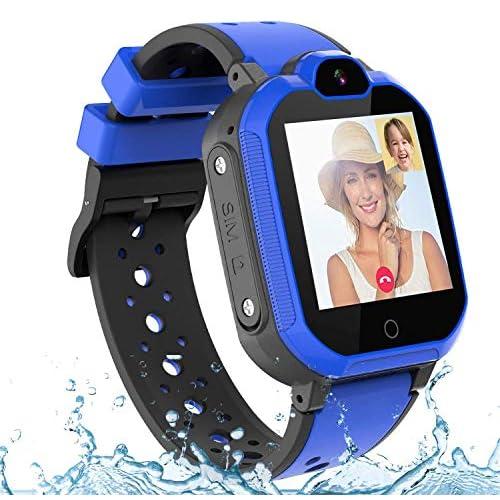 Montre GPS Enfant PTHTECHUS 4G Smartwatch