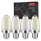 GEZEE Lampadine LED di mais, E27 LED da 14W, 1400LM, 120W equivalenti a incandescenza, Bianca Freddo 6000K Non Dimmerabile, Edison Lampadine Mais(4 pezzi)
