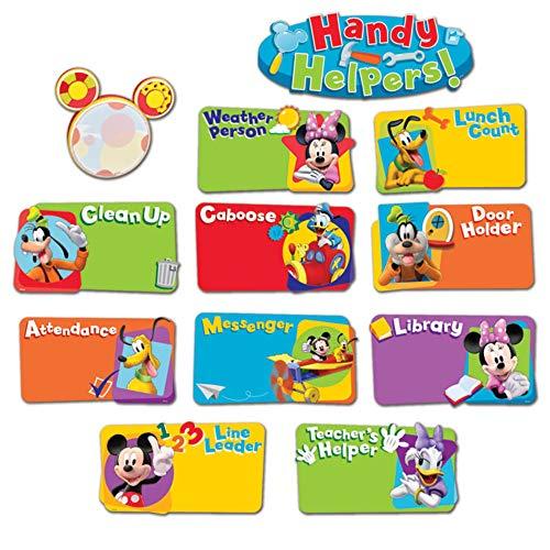 Eureka Classroom Bulletin Board Set, Mickey Mouse Clubhouse Handy Helpers Job Chart Mini Bulletin