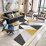 kcersy Nordic Carpet Salon Canapé Thé Table Moderne Simple Tapis De Chevet De...