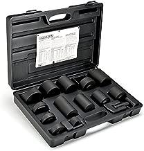 Powerbuilt 940581 14 piece Master Ball Joint Adapter Set, 1 Pack