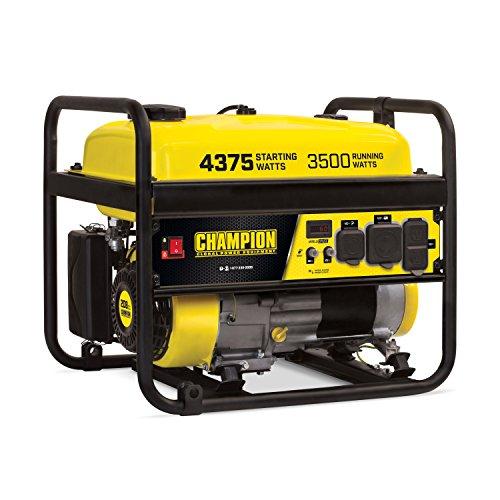 Champion Power Equipment 100555 4375/3500-Watt RV Ready Portable Generator, CARB