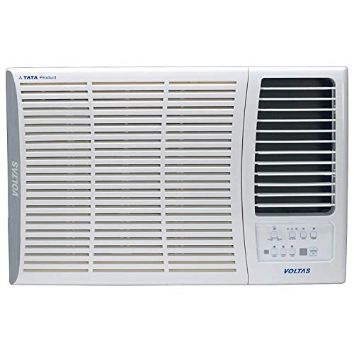 Voltas 1.5 Ton 5 Star Inverter Window AC (Copper, 185V DZA, White)
