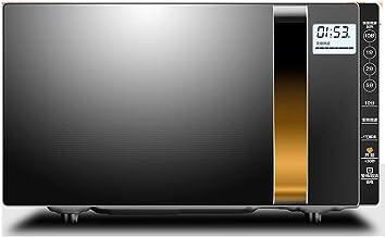YBZS Manual De Microondas Horno, Microondas Inteligente Momento Horno / 900W De Potencia / 23L De Gran Capacidad para El Uso Casero/Descongelación Calefactores De Placa