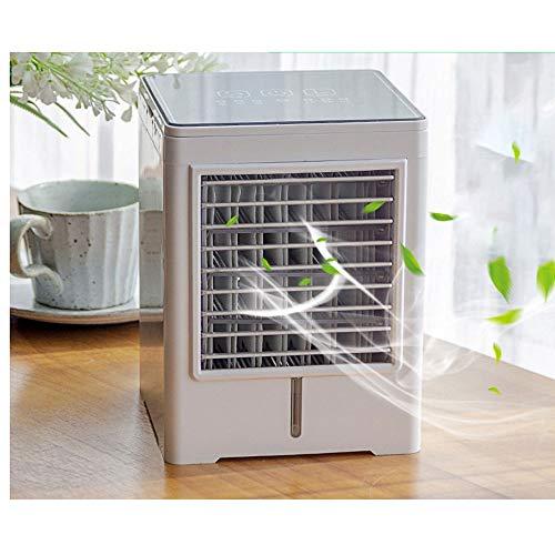 Mini Air Cooler Raffreddatore d aria personale Raffreddatore D aria Evaporativo Mini Personale Raffrescatore Evaporativo 3 modalità Toccare USB Spray refrigerazione Spray refrigerazione Uso domestico