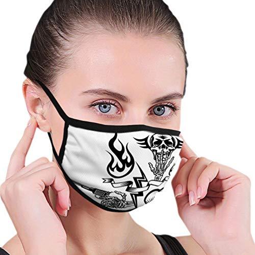 Mondbescherming B7553 Wassen je zorgen weg muurkunst halfgezichtsmasker mondmaskers met oorbeschermers winddicht masker