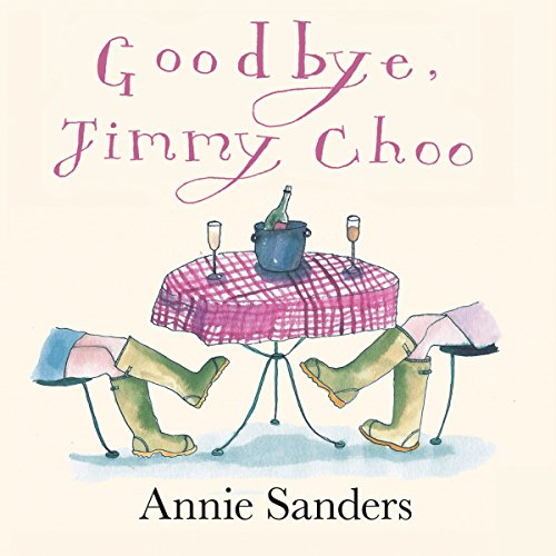 Goodbye, Jimmy Choo audiobook cover art