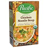 Pacific Foods Organic Chicken Noodle Soup, 17 oz (Pack of 12)
