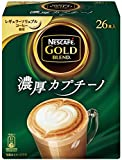 ゴールドブレンド 濃厚カプチーノ(26本入)