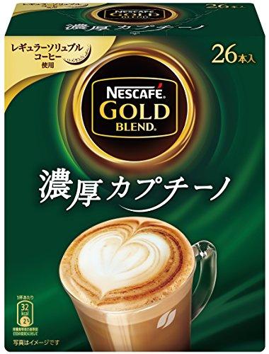 【まとめ買い】ネスカフェ ゴールドブレンド 濃厚カプチーノ 26P×3箱