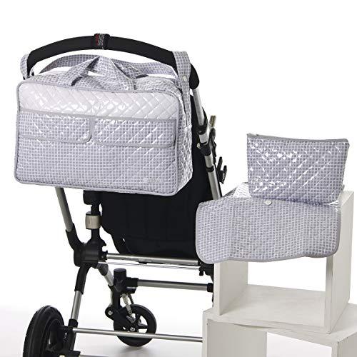 Mundi Beb/é. Colchoneta para silla de paseo universal flor roja Funda silla de coche