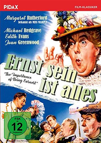 Ernst sein ist alles (The Importance of Being Earnest) / Preisgekrönte Komödie nach Oscar Wilde mit Margaret Rutherford (bek. als MISS MARPLE)