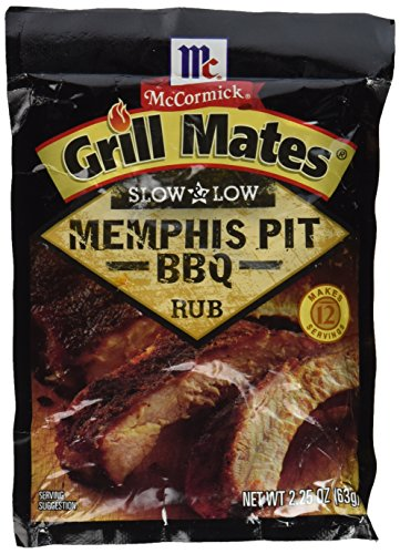 McCormick Grill Mates Slow & Low Memphis BBQ Rub, 2.25 OZ (Pack - 4)