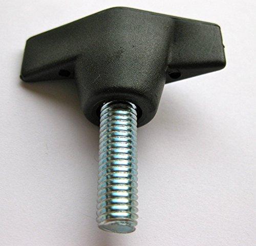 Écrou à bouton latéral M8 x 25 mm pour scie à ailettes et perceuse