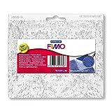 STAEDTLER 8744 16 Fimo Accessories. Hojas de textura para pastas de modelar. Bolsa con una placa de textura de encaje