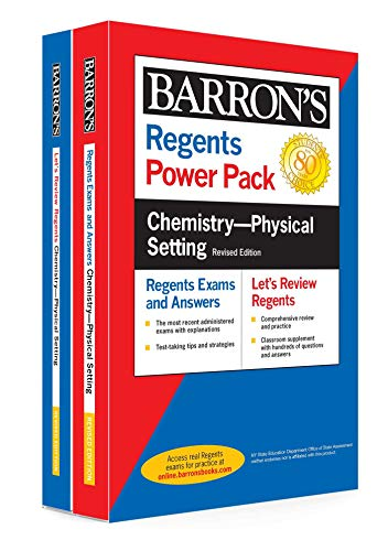 Regents Chemistry--Physical Setting Power Pack Revised Edition (Barron's Regents NY)