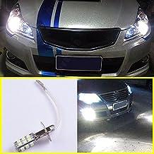 Studyset LED Wit Auto Front Fog Head Light Lamp 12V H3 26-SMD Universal Application Enhance Safety 2Pcs