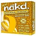 Nakd Free from Banana Crunch Fruit & Nut Bar Multipack…