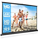 "Best Portable Projection Screens - Pyle 50"" Inch Portable Projector Screen - Portable Review"