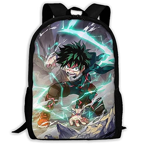 Mochila My-He-r-o Ac-ade-mia, mochila escolar anime, juego de regalo MHA Todoroki, cosplay tan fresco, My-he-r-o Ac-ade-mia3, Talla única,