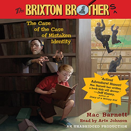 The Case of the Case of Mistaken Identity audiobook cover art