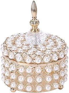 AWAING Bocaux Verre doux Jars avec couvercle, Dôme Forme Sucrier Cristal Effet Glass Candy Bonbonnière Jars for Bonbons Ma...