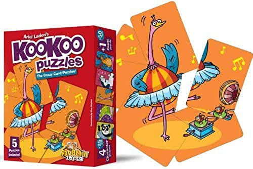 Fat Brain Toys KooKoo Puzzles - Movin' & Groovin' by Fat Brain Toys