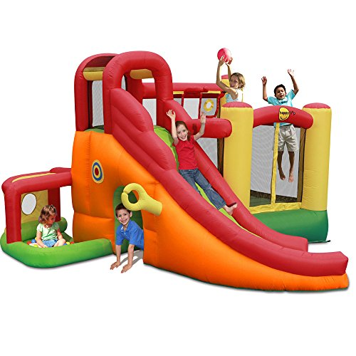 Duplay 11 in 1 15ft Inflatable Bouncy Castle with Slide