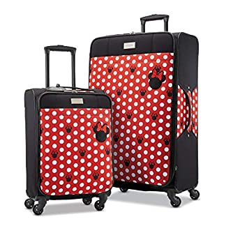 American-Tourister-Disney-Softside-Trolley-mit-Spinnrollen