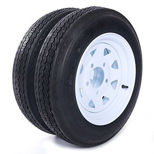 12 inch trailer wheel and tire - 1
