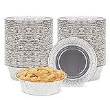 5 inch Mini Pie Pans (100 Count) Small Pot...
