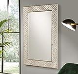 Dugarhome - Espejos Modernos Cristal - Espejo Nacar Rectangular (120x80x2)