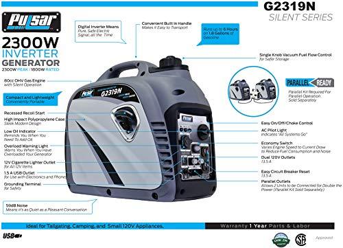 Pulsar G2319N Generator Review