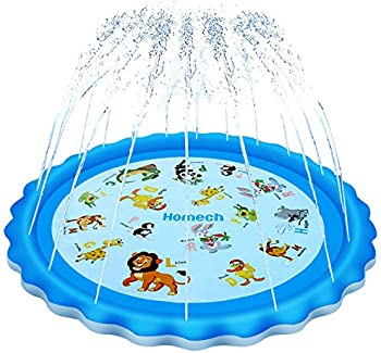 Homech Outdoor Inflatable Sprinkler Water Toys