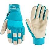 Women's Water-Resistant Work & Gardening Gloves, HydraHyde (Wells Lamont 3204M)