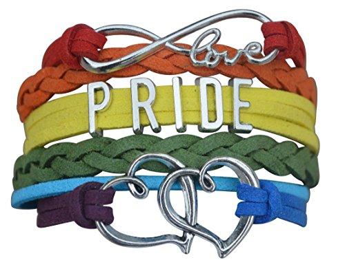 Gay Pride Bracelet - LGBT Bracelet, Gay Pride Jewelry, Rainbow Pride Bracelet & Perfect Gay Pride Gifts