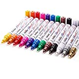 Paint Pens Paint Markers on Almost Anything Never Fade Quick Dry and Permanent, Oil-Based Waterproof...