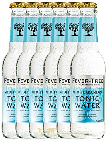 Fever Tree Mediterranean Tonic Water 6 x 0,2 Liter