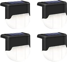 Deepboom Zonne Hekverlichting, 3000K Op Zonne-Energie, IP55 Waterdichte Decoratieve Tuinverlichting Met Intelligente Licht...
