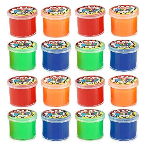 THE TWIDDLERS 20 Stück Packung Miniatur Packung Noisemaker - Ideal als Party Mitgebsel Kinder Geburtstagstasche, Pinata, Preise, Verlosungen Kinder Geschenk - ideale Spiele für Kinder im Haus