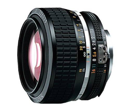 Nikon AI-S FX NIKKOR 50mm f/1.2 Fixed Zoom Manual Focus Lens for Nikon DSLR Cameras