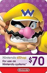 professional $ 70 Nintendo eShop Gift Card [Digital Code]