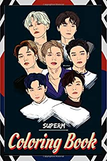 SuperM Coloring Book: superm, 슈퍼엠, ten, taeyong, kai, mark, super m, baekhyun, lucas, 태용, 마크, superm the beginning, exo, 죠핑, jopping, superm jopping, ... channel, billboard, superm behind, 슈퍼엠 비하인드,