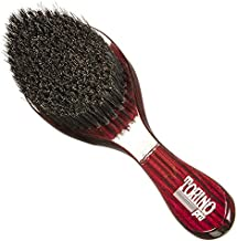 Torino Pro Wave Brush #570 By Brush King - Medium Hard Curve 360 Waves Brush - Made with Reinforced Boar & Nylon Bristles (360 Waves Brushes)