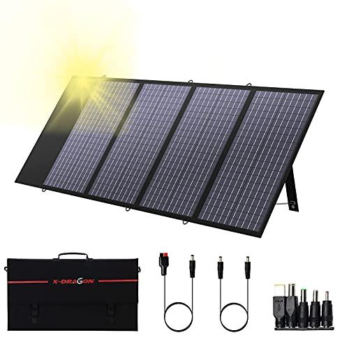 X-DRAGON Solarpanel Faltbares 130W-Solarmodul für die …