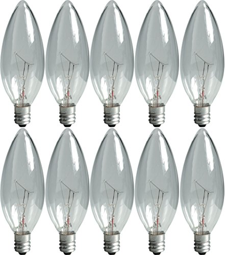 Clear Decorative Light Bulb - 9