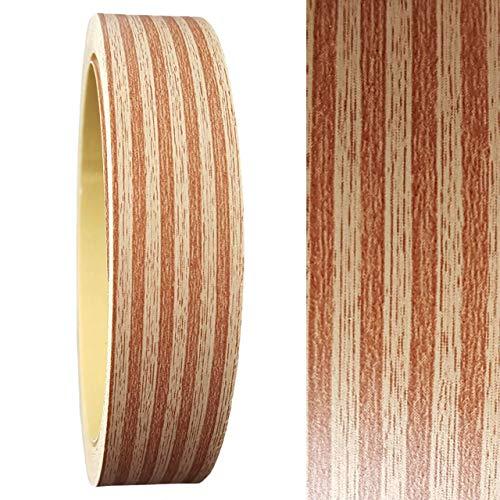Umleimer 19 mm x 5 Meter in Multiplex Holz-Optik SELBSTKLEBEND von Barend Palm als Kantenumleimer OHNE BÜGELN glatt matt ohne Struktur