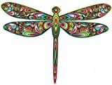 UNIQUE BRIGHT Dragonfly - Bumper Sticker/Decal (5' X 4')