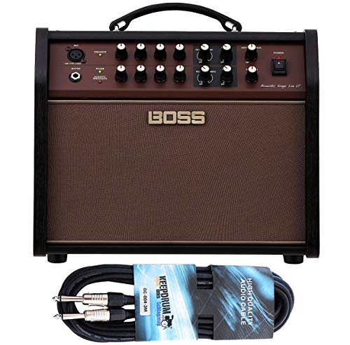 Boss Acoustic Singer Live LT versterker + keepdrum jack kabel 3m
